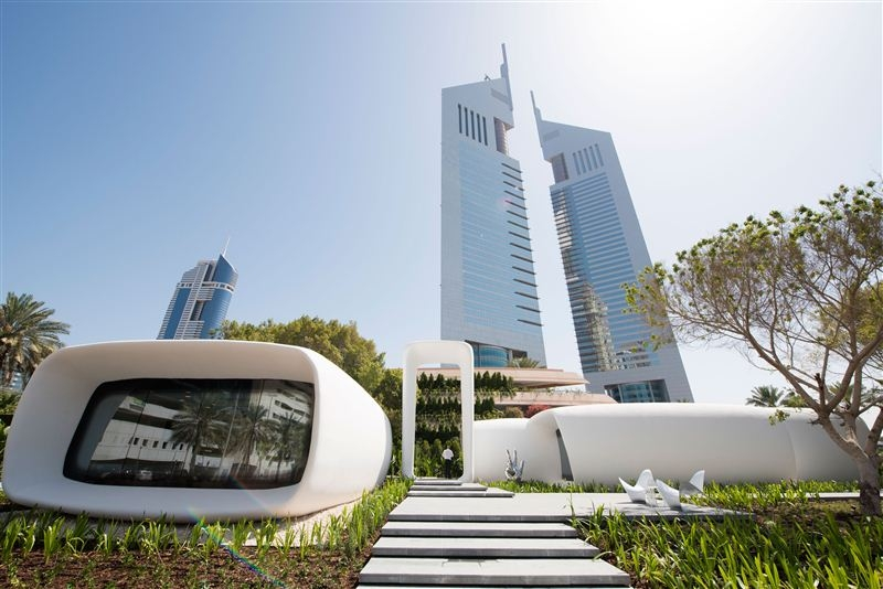 Dubai opens world's first functioning 3D-Printed building