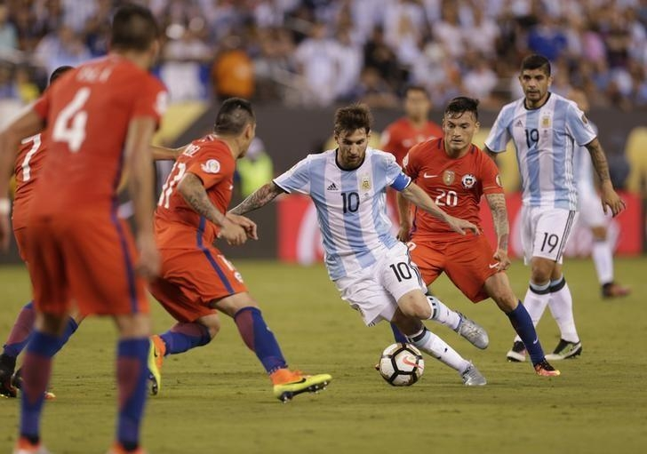 Chile retain Copa with shootout win over Argentina