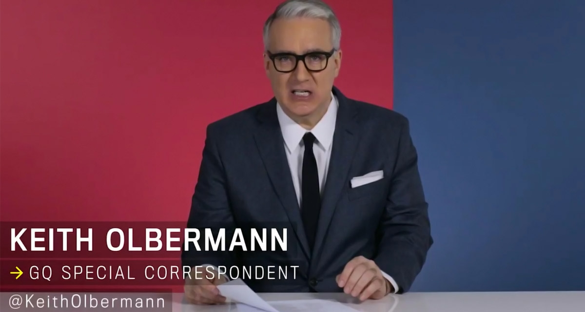 Keith Olbermann on Trump: We have elected an idiot!