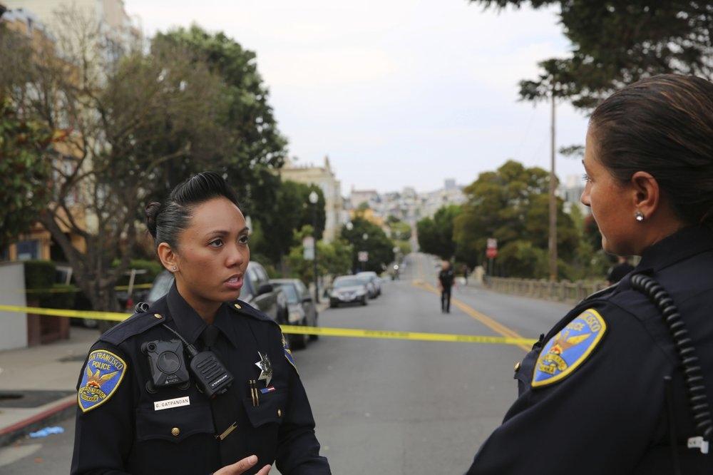 Patrullajes en San Francisco tras tiroteo que dejó heridos