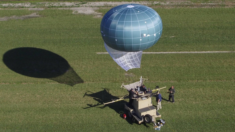 EEUU: Patrulla Fronteriza prueba nuevo globo de vigilancia
