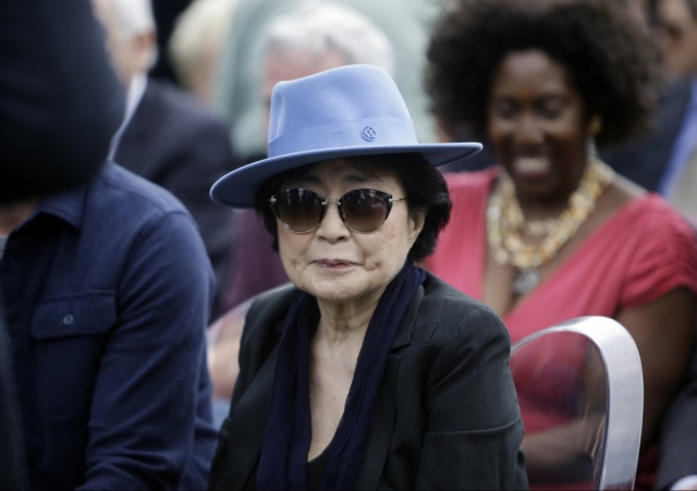 "Yoko Ono recibe crédito por ""Imagine"""