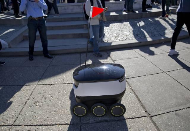 Robots repartidores necesitarán permisos en San Francisco