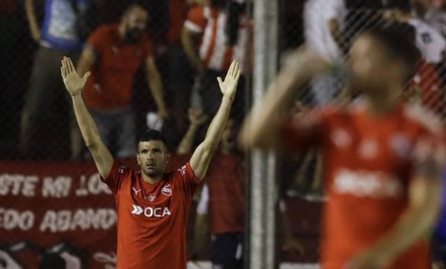 Sudamericana: Independiente gana 2-1 ida final ante Flamengo