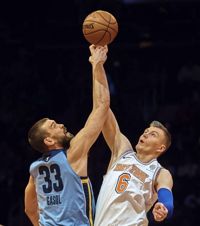 Lee y Porzingis comandan victoria de Knicks ante Grizzlies