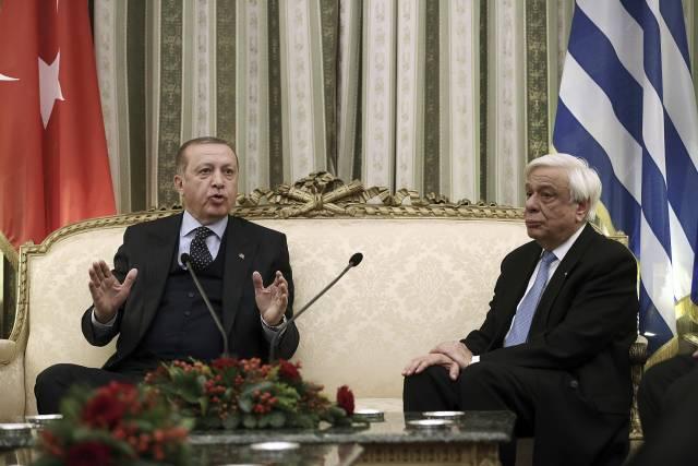 Grecia: Visita de Erdogan tiene un comienzo tenso