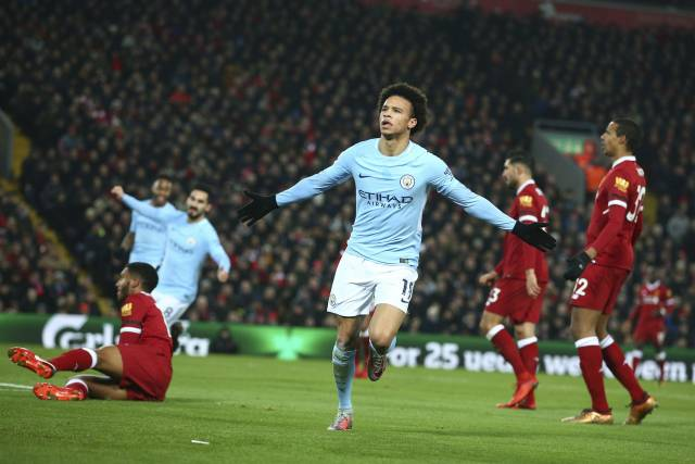 Sané regresa al Man City cinco semanas antes de lo planeado