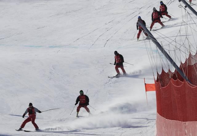 El esquí alpino comienza por fin en Pyeongchang