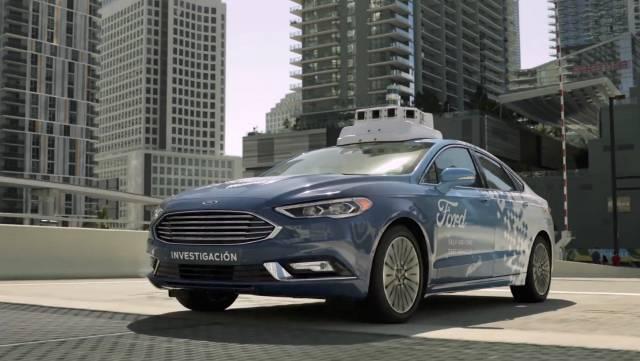 Ford realizará pruebas con vehículos autónomos en Miami-Dade