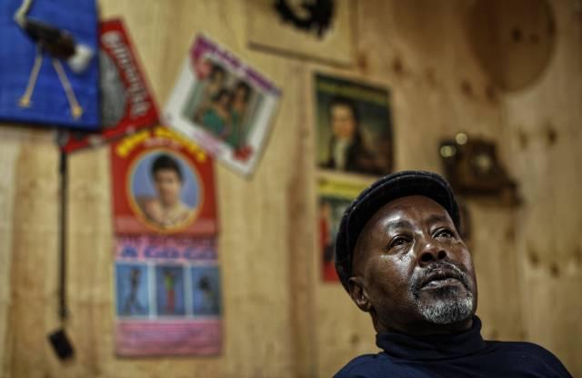 Una tienda sigue vendiendo discos de vinil en Kenia