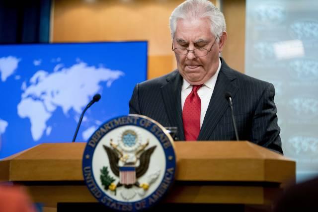 El breve y zarandeado paseo de Tillerson como diplomático