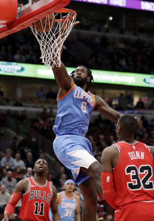 Jordan y Williams guían a Clippers a triunfo sobre Bulls