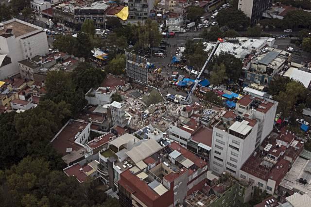 Ciudad de México expropia terreno para memorial por sismo