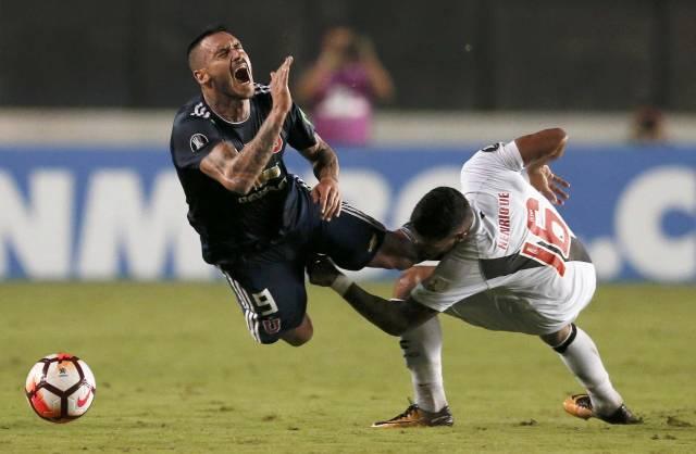 Libertadores: U. de Chile vence 1-0 a Vasco Da Gama