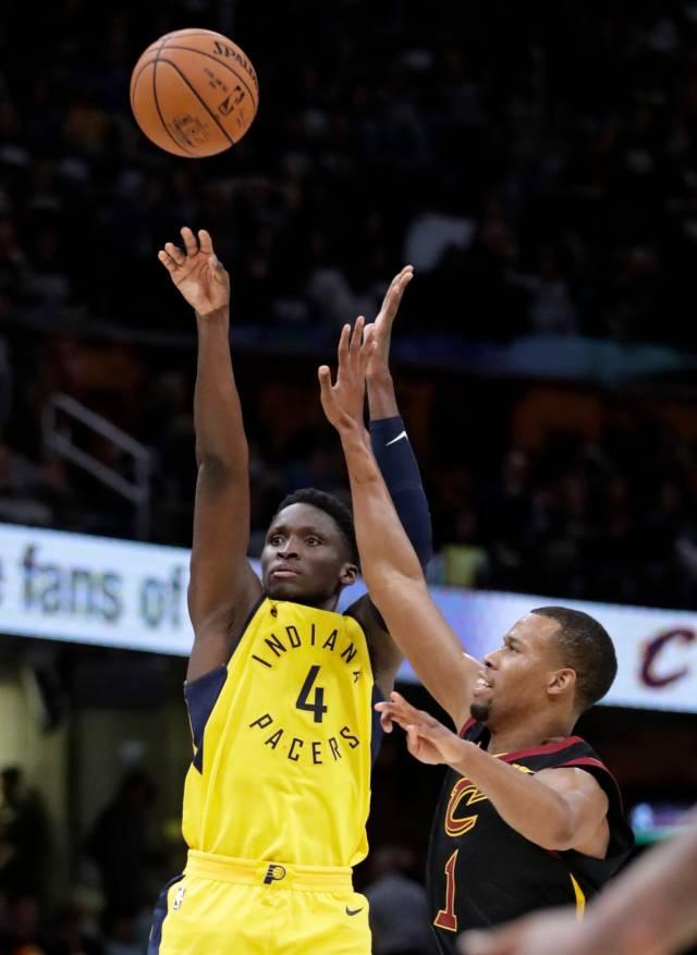 Con 32 puntos de Oladipo, Pacers sorprenden a Cavaliers