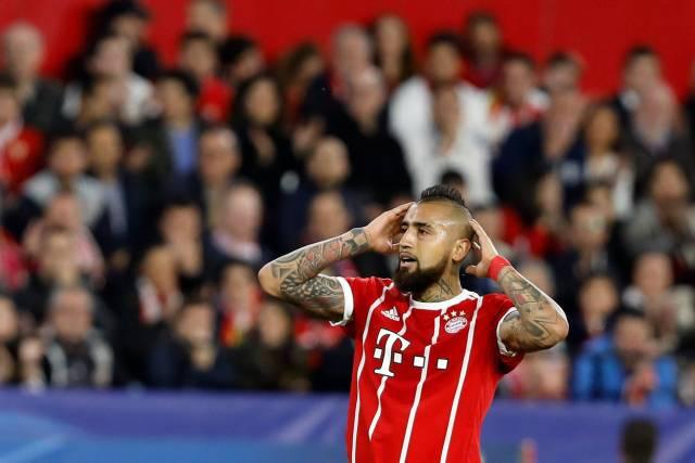 Vidal se operará la rodilla, en duda para Real Madrid