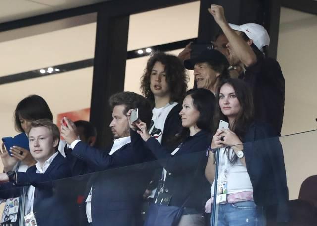 Mick Jagger podría dar mala suerte en el mundial
