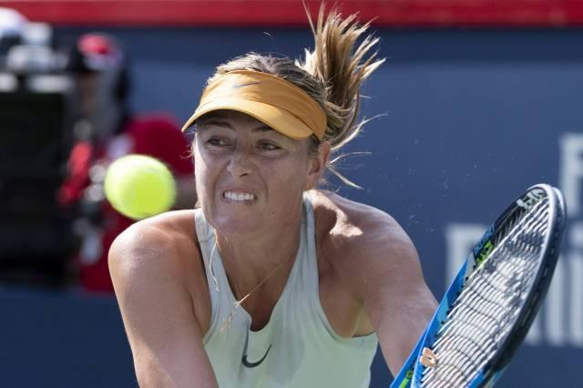 Maria Sharapova avanza a la segunda ronda en Montreal