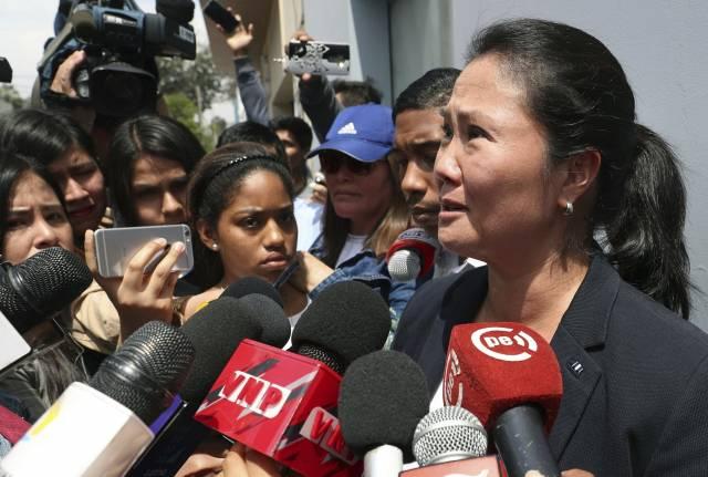 Perú: apresan a Keiko Fujimori por supuesto lavado de dinero
