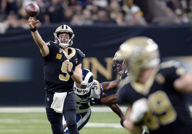 Brees va por más récords en visita de Saints a Bengals