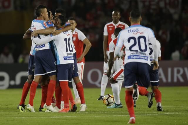 Junior vence a Santa Fe y acaricia final de Sudamericana