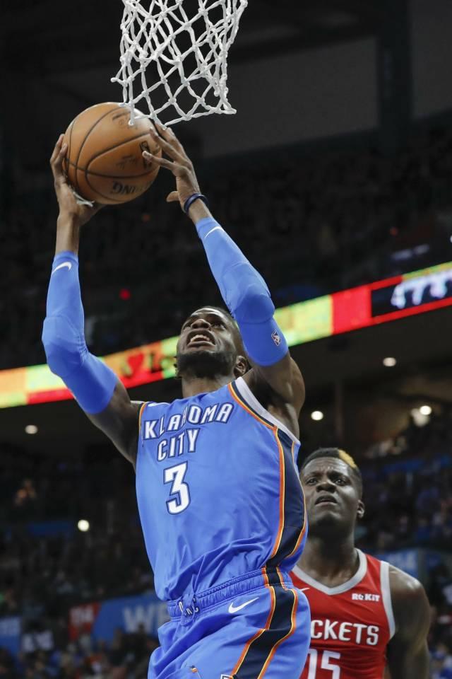 Thunder vence a Rockets pese a la ausencia de Westbrook
