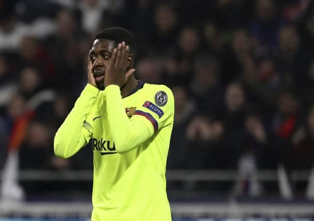Barcelona: Dembélé, baja de 3-4 semanas por lesión muscular