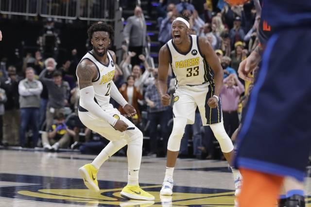 Pacers remontan déficit de 18 puntos y vencen a Thunder