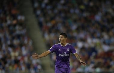 James inicia, anota golazo y catapulta al Real Madrid