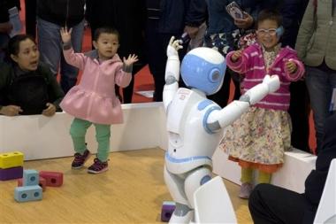 Robots, eje de la estrategia china para el futuro