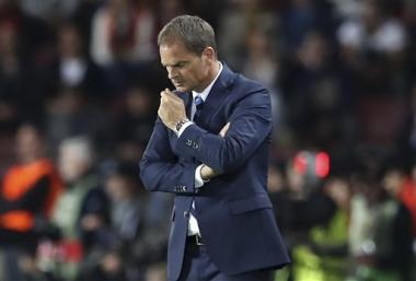Inter despide al técnico Frank de Boer