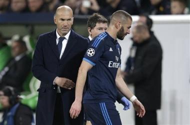 Benzema recuperado para jugar el derbi de Madrid