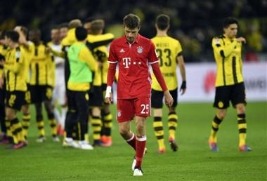Bayern pierde aureola de equipo invencible en la Bundesliga