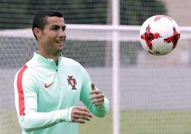 Cristiano Ronaldo está listo para enfrentar al Barcelona en la Supercopa de España