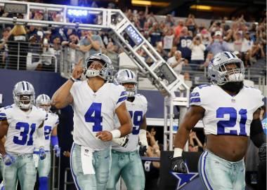 Prescott y Elliott intentan sacar la cara por los Cowboys