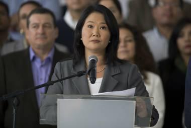 Perú: allanan sede del partido de Keiko Fujimori