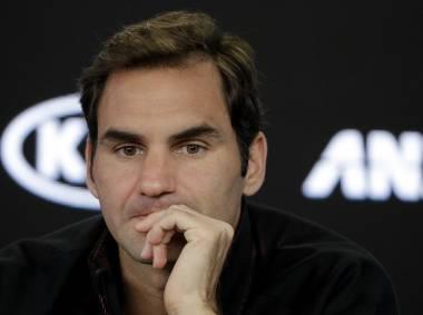 Federer desvía la atenci?n en Australia a Nadal y Djokovic