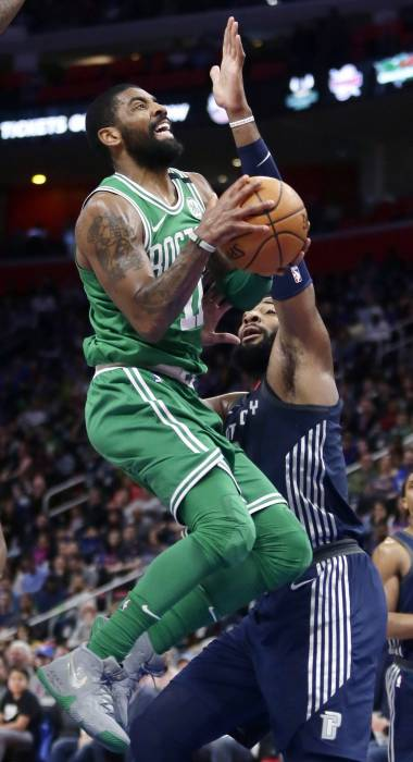 Tonificados tras el All-Star, Celtics arrasan a Pistons
