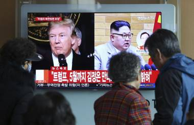 Trump planea reunirse con Kim para diálogo nuclear
