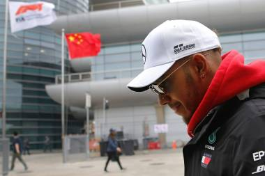 Hamilton, el más rápido en 1ras prácticas del GP de China
