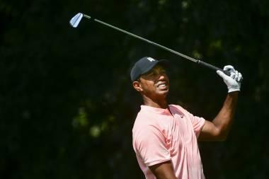 Tiger Woods vuelve al Tour Championship y comparte la cima