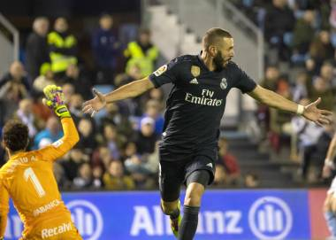 Benzema asume rol de figura en el Real Madrid de Solari