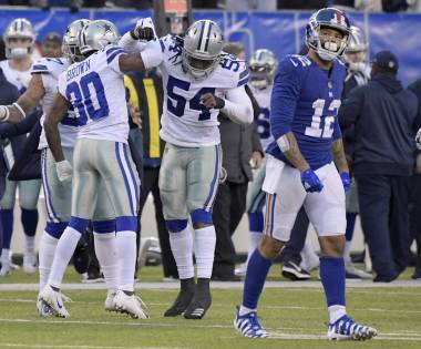 Prescott luce por aire y Cowboys remontan ante Giants