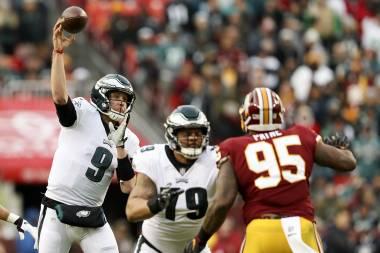 Foles será el quarterback titular de Eagles ante Bears