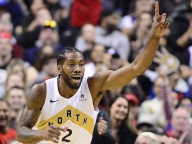 Con 20 puntos y 11 rebotes de Leonard, Raptors supera a Nets
