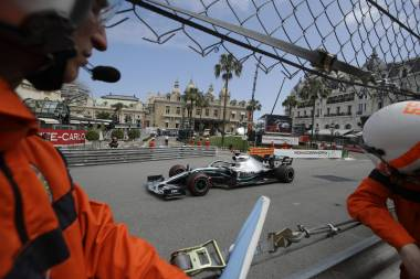 Hamilton, el más rápido en prácticas del GP de Mónaco