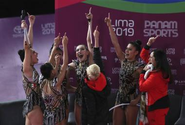 Oro para México en el all-around de gimnasia rítmica